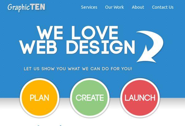 GraphicTEN - Web Design