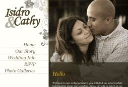 Isidro and Cathy's Wedding Website