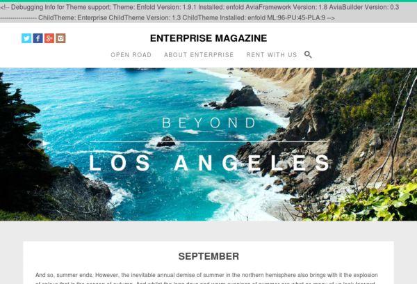 Enterprise Magazine
