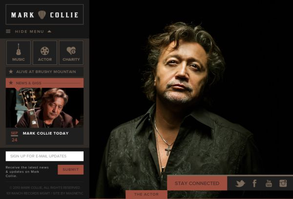 The Official Mark Collie Website