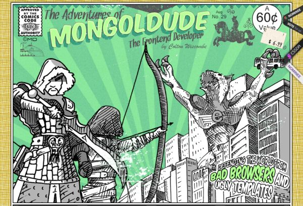 Mongol Dude