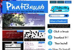 PhatBrush - The Mecca of Photoshop Brushes