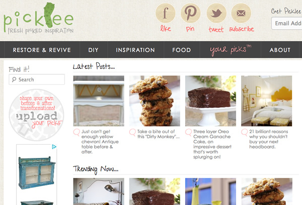 picklee inspiration blog