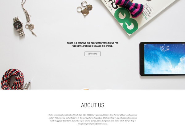 Shore - Creative MultiPurpose WordPress Theme
