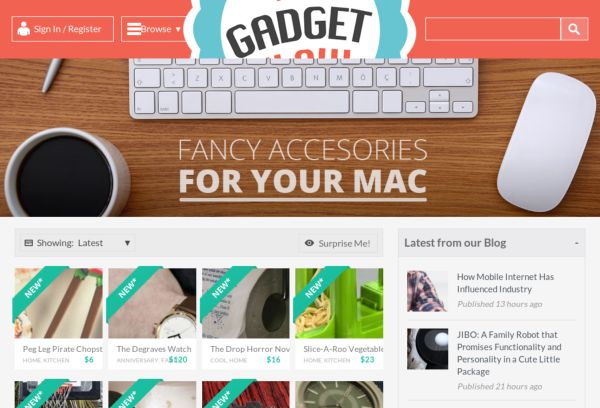 The Gadget Flow - Discover the Coolest Gadgets of the Web