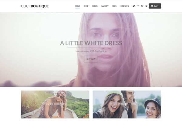 ClickBoutique - Responsive WordPress Theme