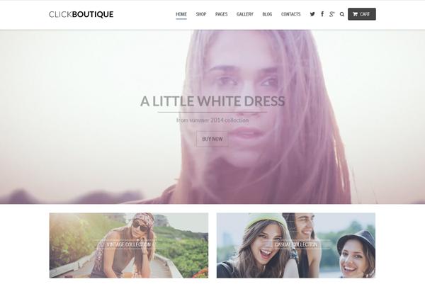 ClickBoutique - Responsive WordPress Theme