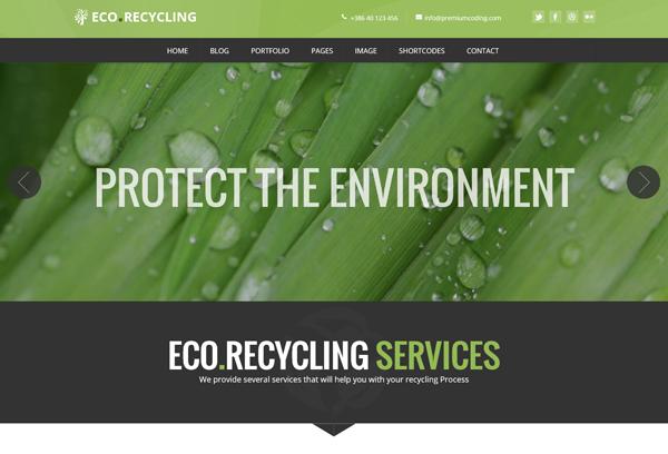 EcoRecycling - a Multipurpose WordPress Theme