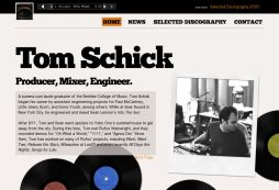 Tom Schick - Producer, Engineer, Mixer