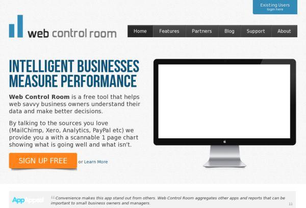 Web Control Room