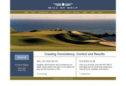Will of Golf