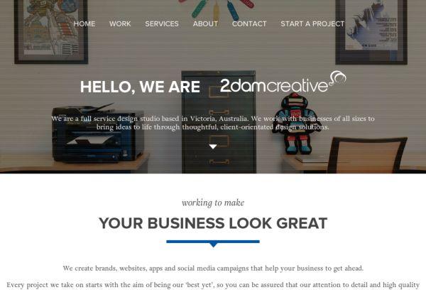 2 Dam Creative Web designers