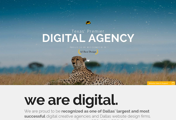 Cheetah Agency | Dallas Website Design