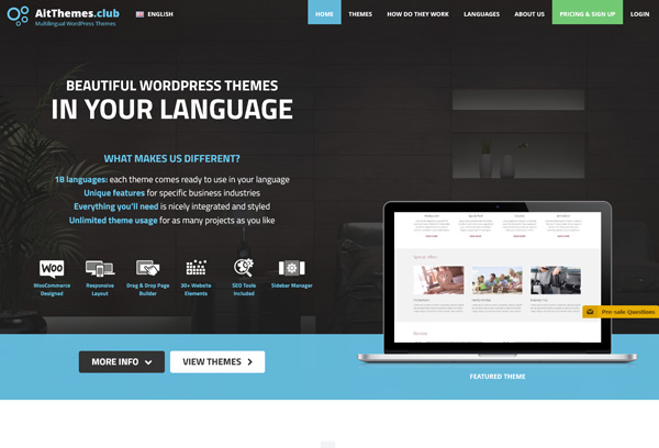 AitThemes.Club - Multilingual WordPress Themes
