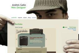 Andres Gallo\'s Portfolio