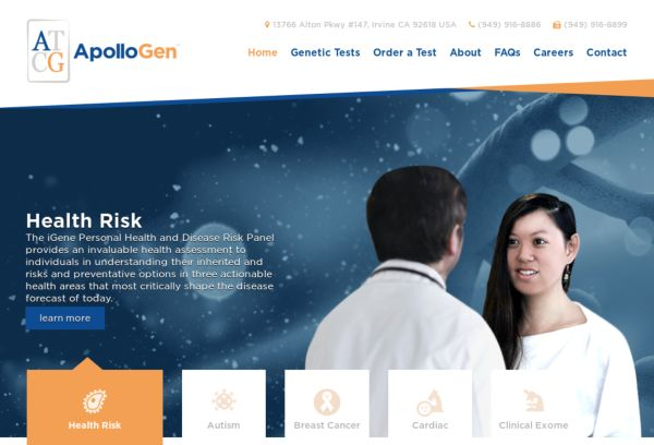 Accurate and Informative Genetic Testing Services - ApolloGen