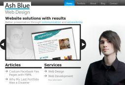 Ash Blue Web Design