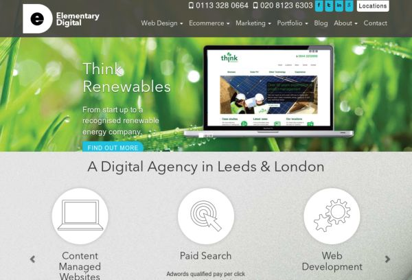 Elementary Digital  WordPress Agency