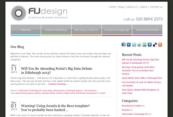 FIJ Design Blog