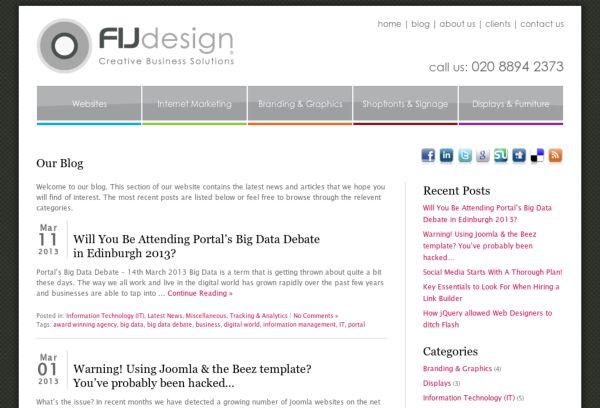 FIJ Design Blog