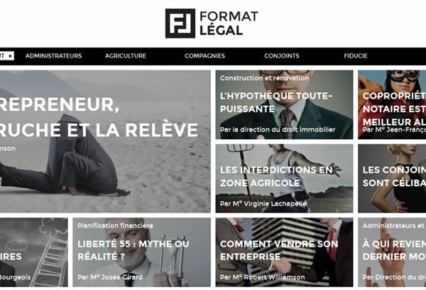 Format Légal by LEEROY Creative Agency