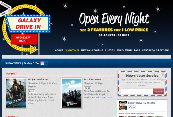 Galaxy Drive-In Theatre