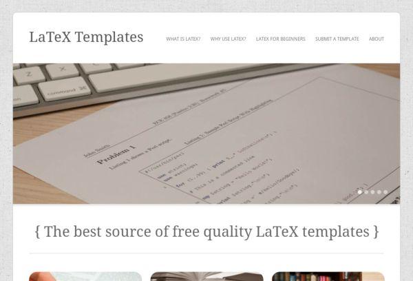 LaTeX Templates