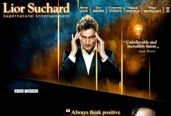 Lior Suchard Supernatural Entertainment