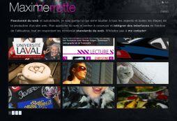 Maxime Verrette | Int?grateur web