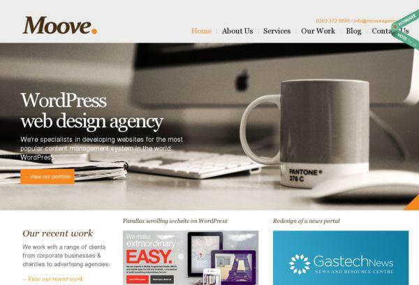 Wordpress Webdesign in London
