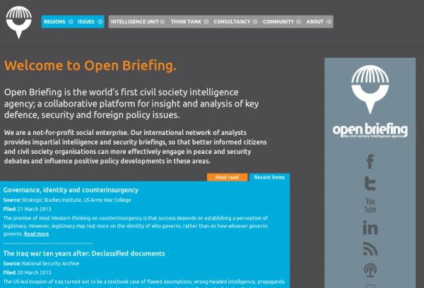 Open Briefing