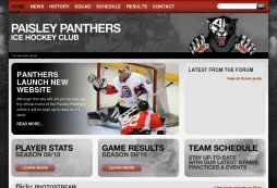 Paisley Panthers Ice Hockey Club