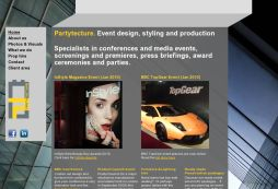 Partytecture event design, styling and production