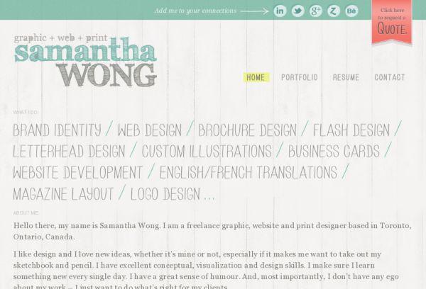 SamanthaWong.ca