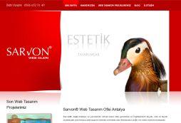 Sarvon Web Tasarimi Antalya