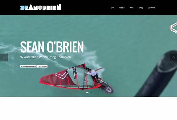 Sean OBrien Pro Windsurfer