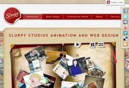 Slurpy Studios - animation and web design