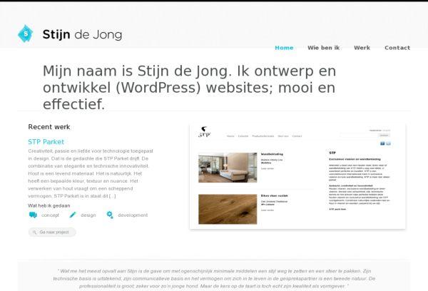 Stijn de Jong Webdesign