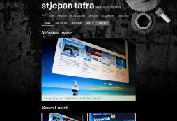 Portfolio of Web Designer and Photographer Stjepan Tafra.