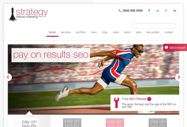 Strategy Internet Marketing Responsive Blog