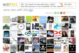 techWALL - your tech on our wall