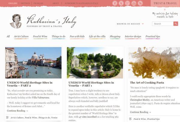 Katharinas Italy