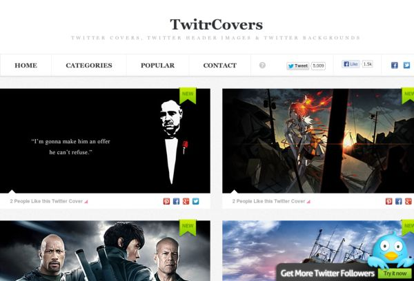 Twitr Covers