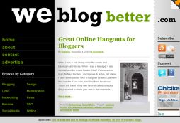 We Blog Better